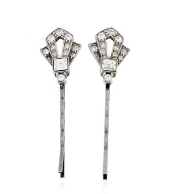 Thomas Laine Mini Gatsby Crystal Hair Pin