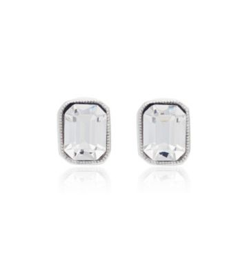 Thomas Laine Classic Hollywood Crystal Stud Earrings