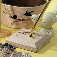 Love Birds Pen and Holder