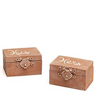 His & Hers Ring Box Set