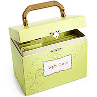 The Knot Reply Card Organizer - Swirl