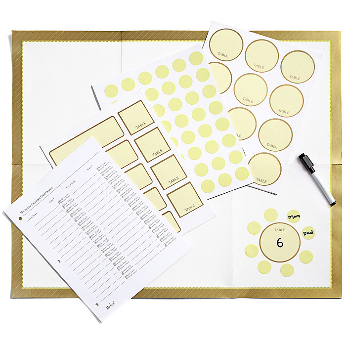 The Knot Seating Chart Organizer - Swirl