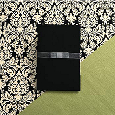Black & White Elegance Invitation Kit