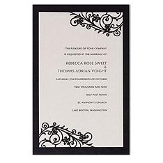 romantica invitation kit
