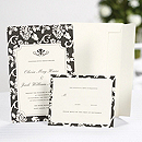 Floral Framed Invitation Kit
