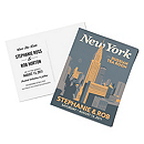 Personalized Save the Date Postcards - New York