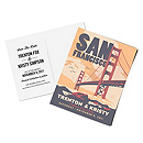 Personalized Save the Date Postcards - San Francisco