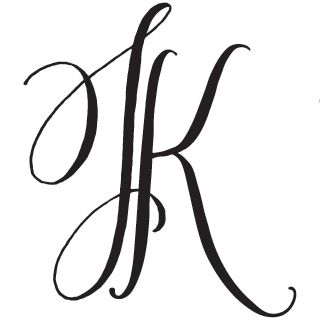 Hand-Drawn Two Letter Monogram