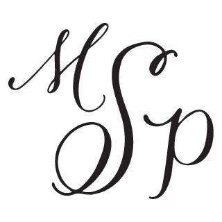 Hand-Drawn Three Letter Monogram