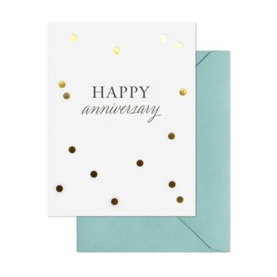 Anniversary Confetti Card