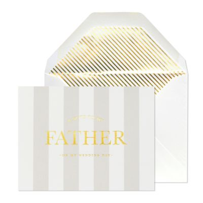 Note to Father Card