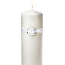 Personalized Ribbon Charm Unity Candle