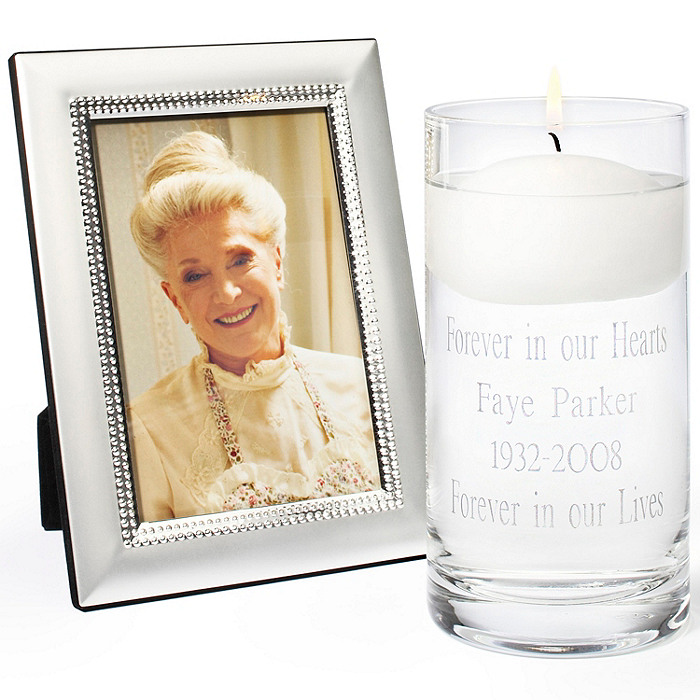 Memorial Candle & Frame Set