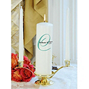 Personalized Elegance Unity Candle Set