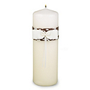 Enchanted Evening Unity Candle - Mocha